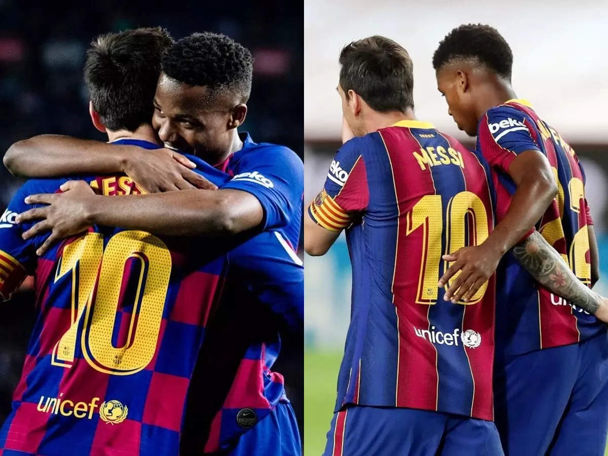 Ansu Fati Messi jersey number 10: Barcelona's young stars Ansu Fati will wear Lionel Messi's number 10 jersey: 18-year-old young footballer will wear Messi's jersey, Barcelona No. 10 has not retired