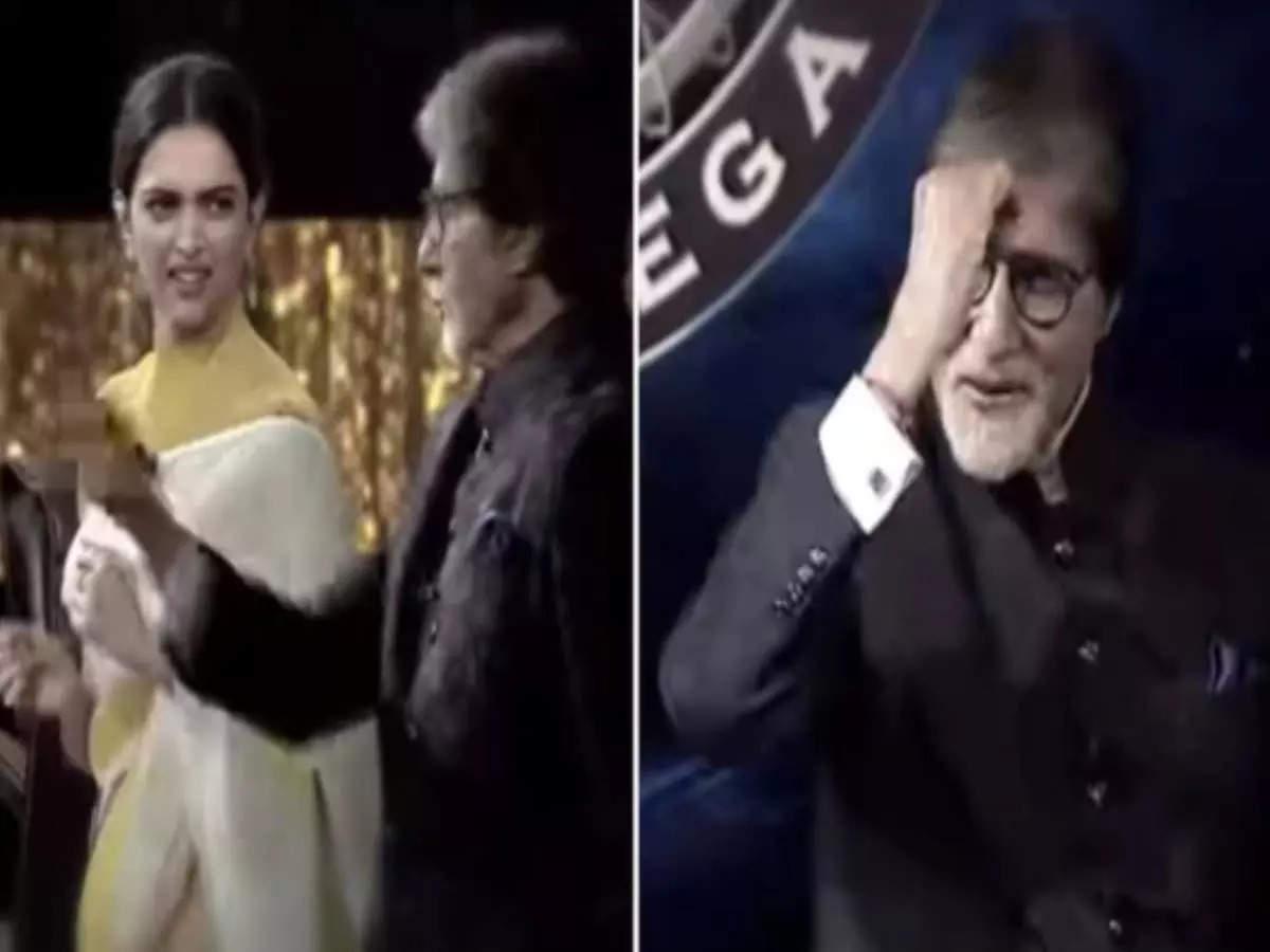 Amitabh Bachchan: Kaun Banega Crorepati 13 Amitabh Bachchan Audition Deepika Padukone recreates a pinch of vermilion scene