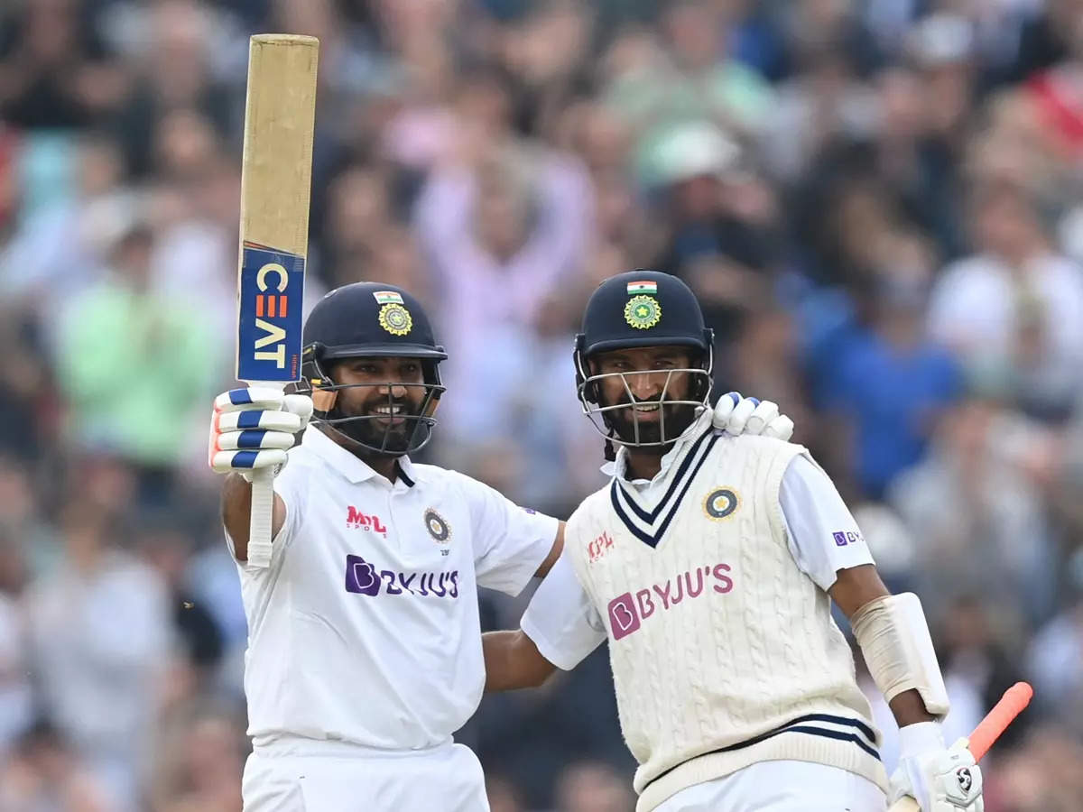 Rohit Sharma's first overseas Test 100: Rohit Sharma scores his first overseas Test century against England in the Oval Test