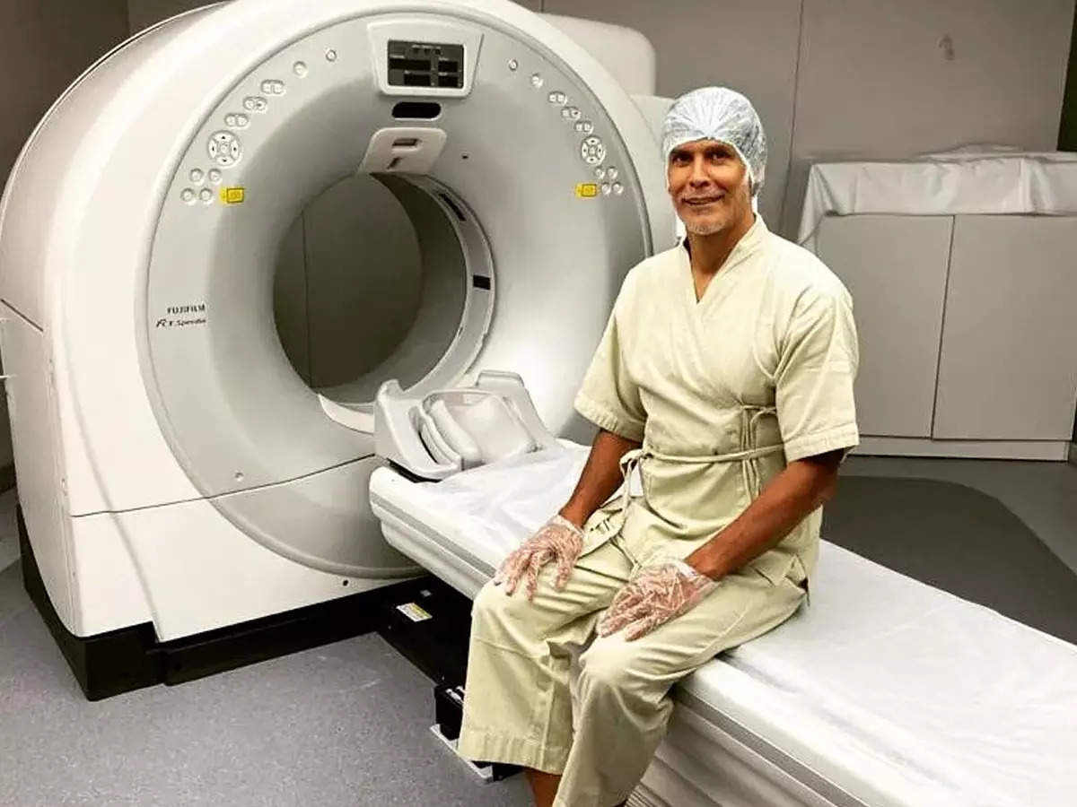 Milind Soman CT Scan Photo Bollywood: Milind Soman scanned CT, shared the photo and told the fans – everything is normal – Milind Soman scanned CT and said everything is normal