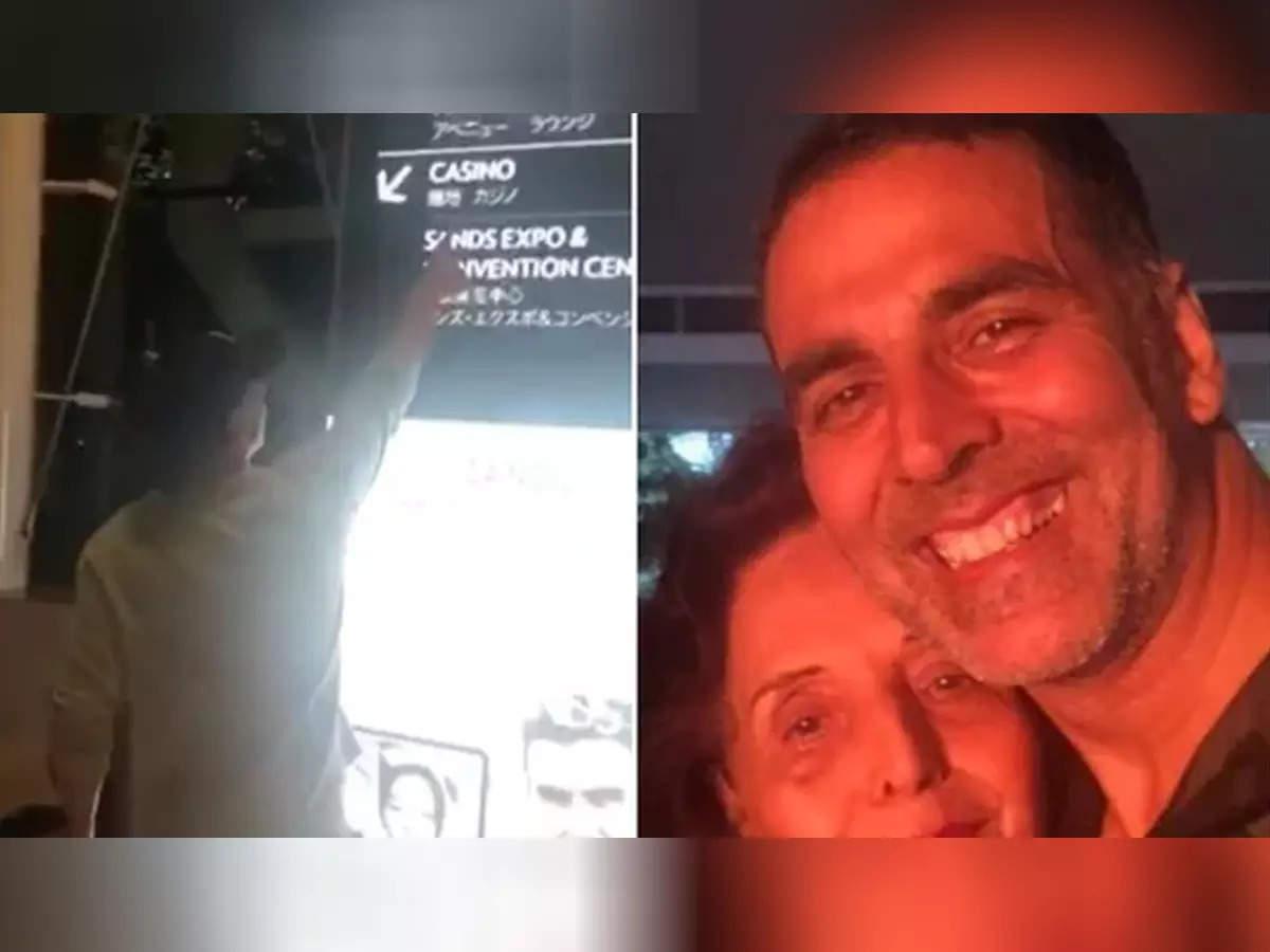 Akshay Kumar mother Aruna Bhatia Casino Video: When Akshay Kumar took his mother to her favorite place