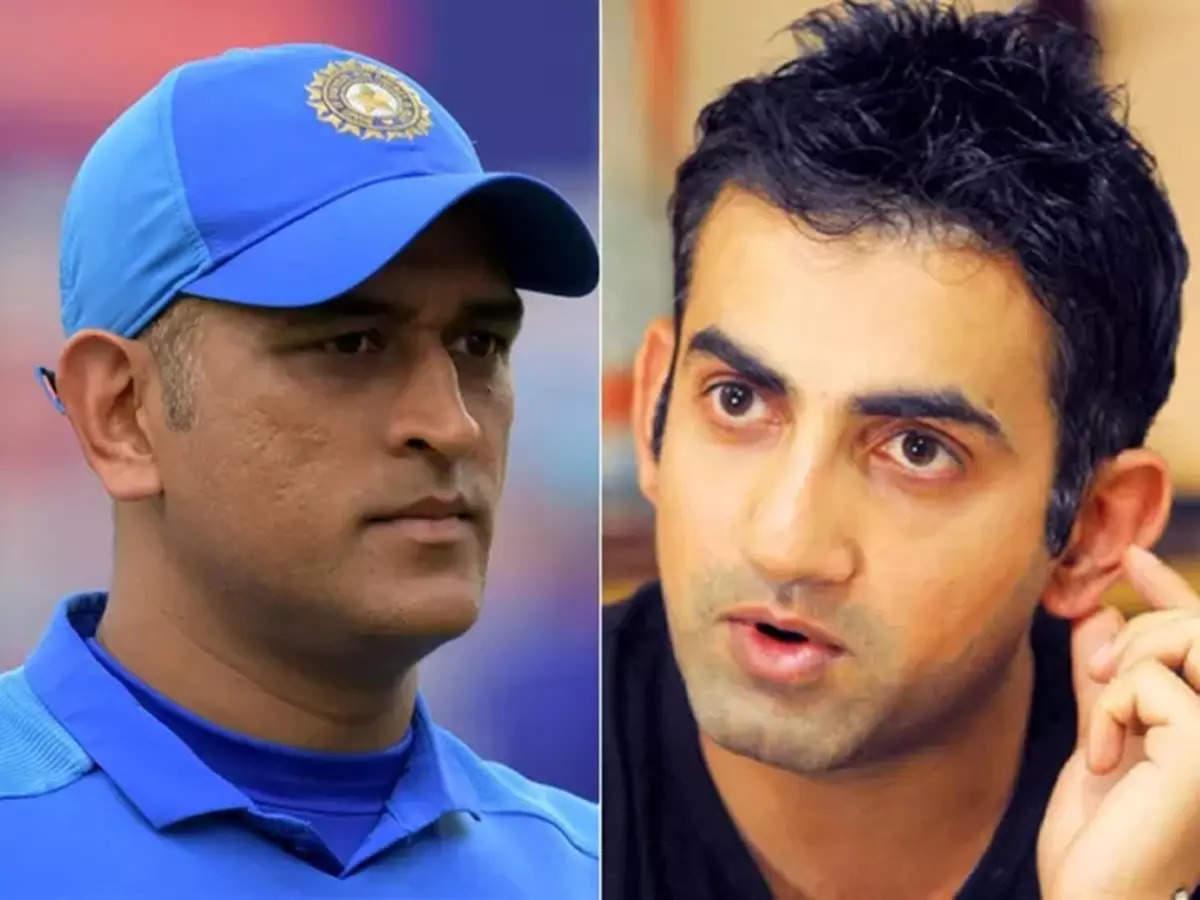 Ms. Dhoni's mentor Gautam Gambhir: Gautam Gambhir's comment at Team India's MS Dhoni Mentor for T20 World