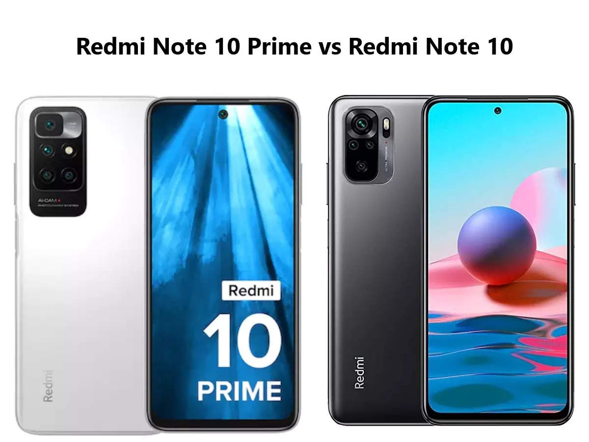 Redmi Note 10 Prime and Redmi Note 10 Price and Features: Redmi Note 10 Prime vs. Redmi Note 10: The Battle of the Economy!  Who was heavy on whom?  Find out here – Redmi Note 10 Prime vs Redmi Note 10 Find out which smartphone is best for you to buy for the lowest price and powerful features