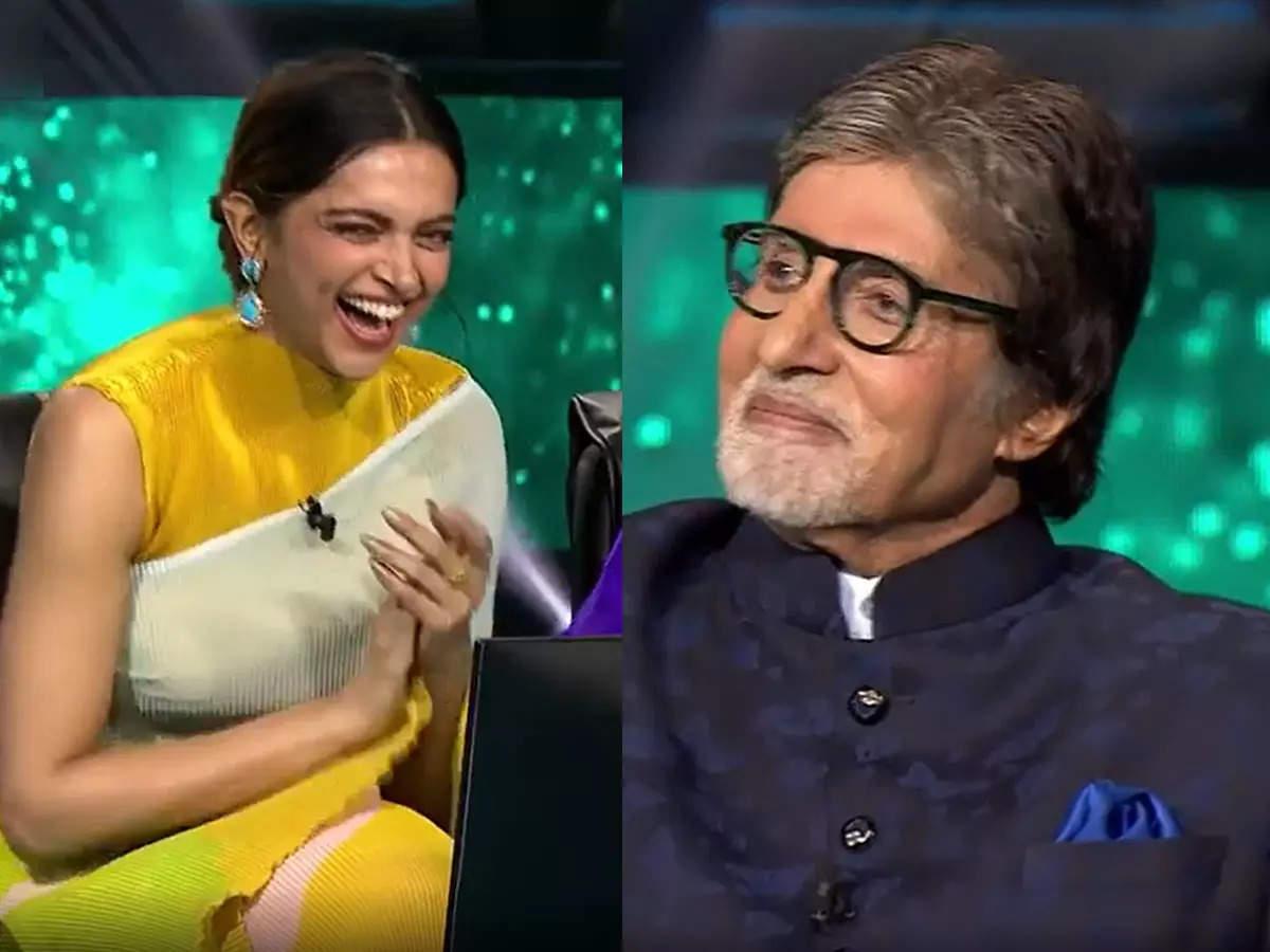 Deepika Ranveer catches Amitabh during PDA: Kaun Banega Crorepati 13 Amitabh Bachchan remembers when Ranveer Singh and Deepika Padukone were caught during PDA
