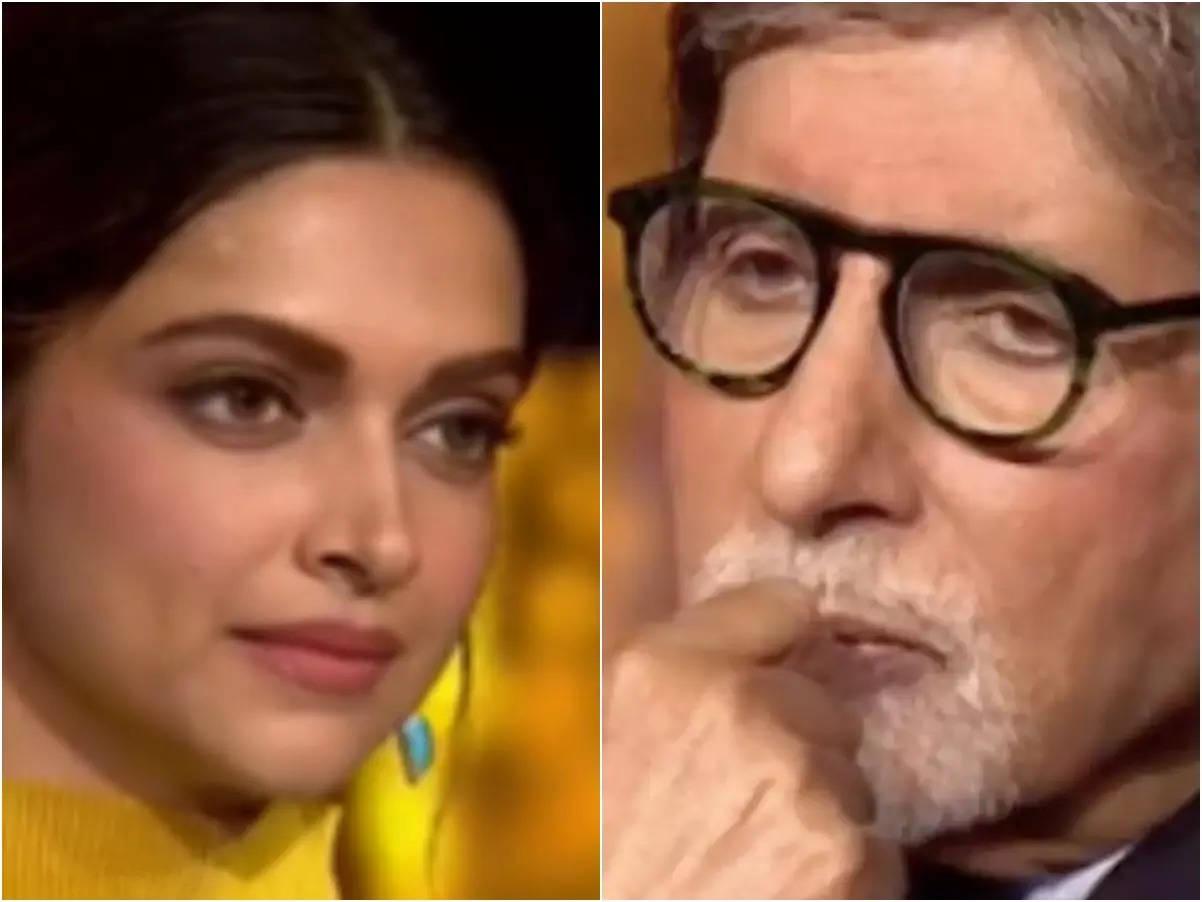 Deepika Padukone battles depression: KBC13 Deepika Padukone gets emotional before Amitabh Bachchan: Fighting depression doesn't feel like living anymore