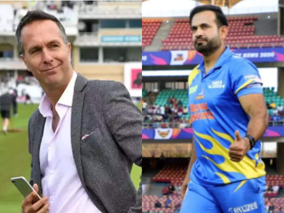 Michael Vaughan on Manchester Test: Don't tell me the Manchester Test was canceled for any reason other than the IPL;  Michael Vaughan says, Irfan Pathan responds: Irfan Pathan gave the correct answer to Michael Vaughan, saying – If I have broken my teeth, should I blame IPL for that?