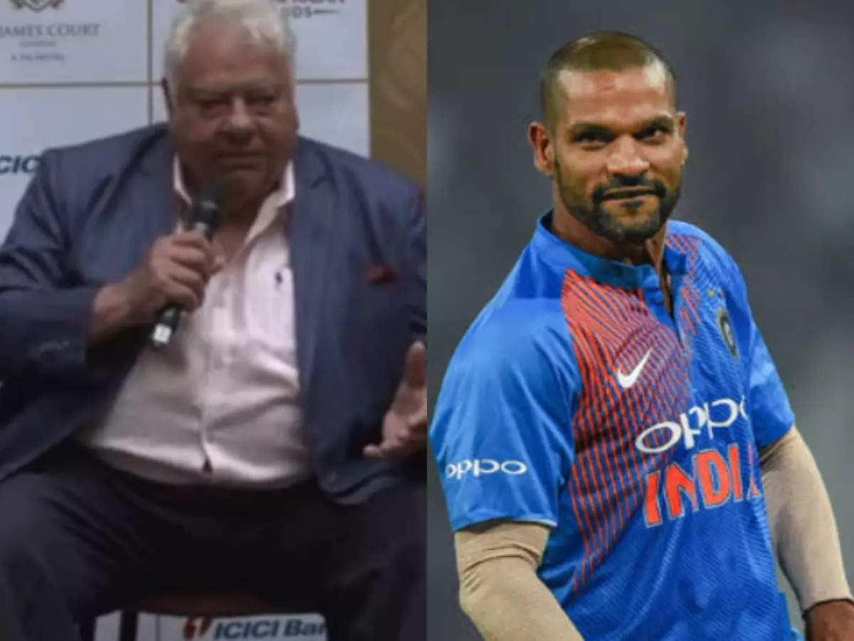 Farooq Engineer on Dhawan: I don't think a player of his ability should be tested;  Farooq Engineer Shikhar Dhawan's T20 World Cup