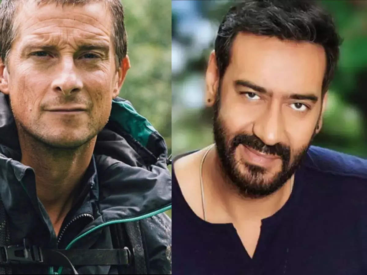 Ajay Devgan bears crying in the forest: Ajay Devgan will be the next guest in the bear grills show in the forest