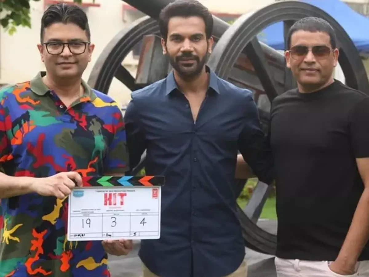 Rajkumar Rao Telugu thriller HIT: Rajkumar Rao starts shooting for Hindi remake of Telugu thriller HIT