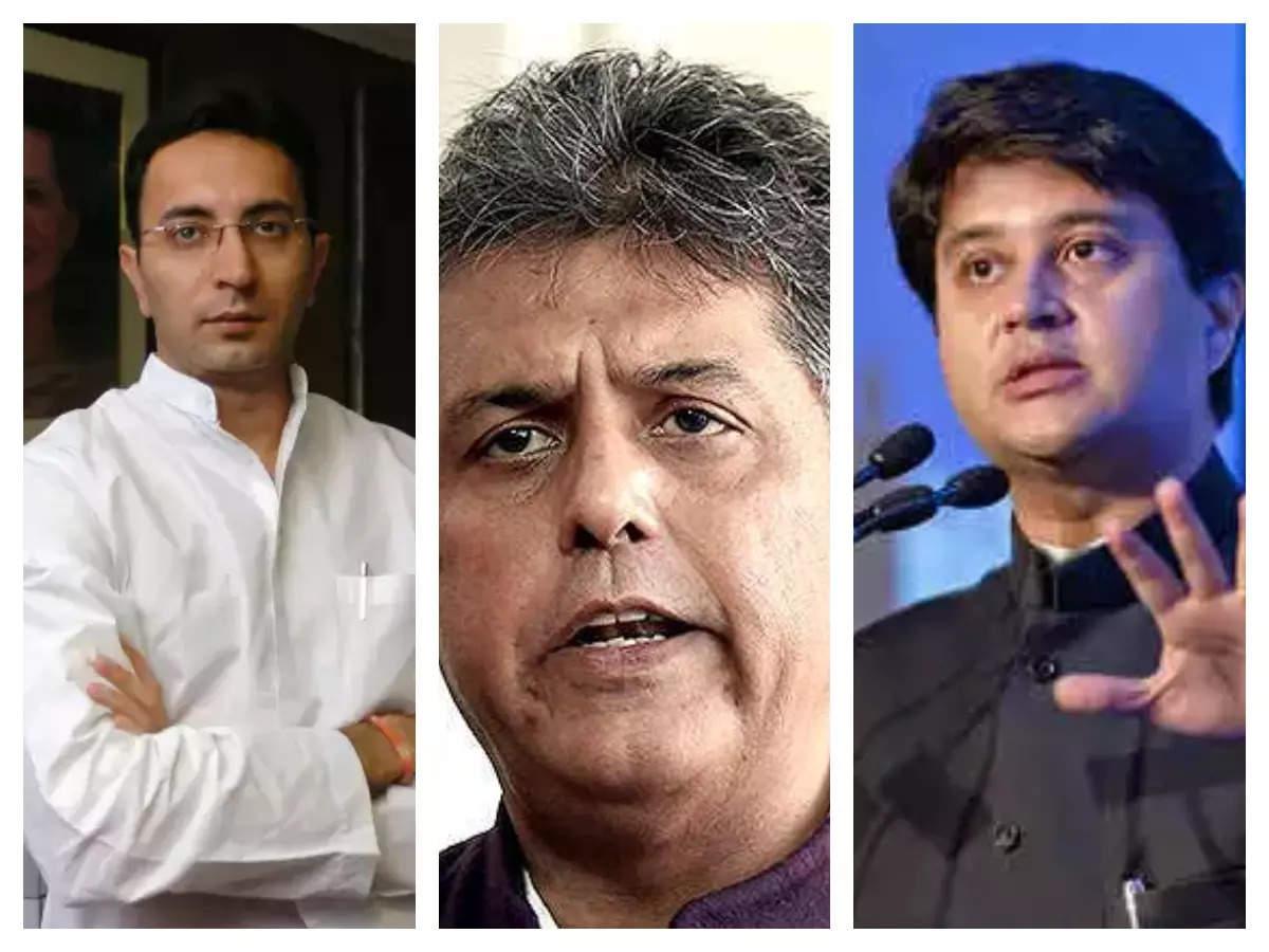 Manish Tiwari comments on Jitin Prasad: Manish Tiwari comments on Jitin Prasad, I wish I could see in his head: 'I wish I could read the minds of Jitin and Jyotiraditya …'