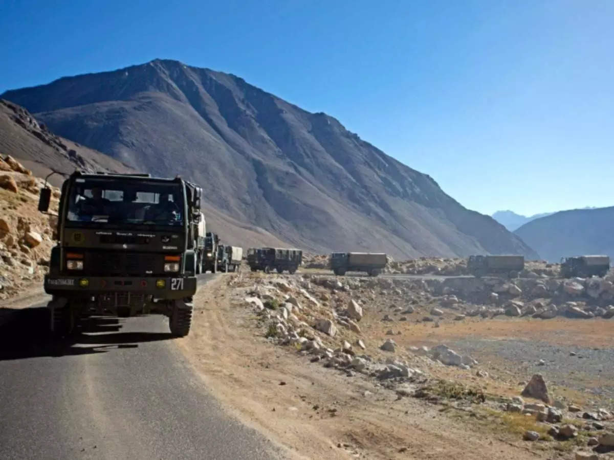 Current situation in lakhs: China's aggression on lakhs as Army Chief General MM Narwane on a two-day visit to Ladakh