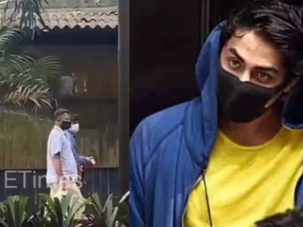 SRK staff bringing food for Aryan: Shahrukh Khan staff seen bringing food and other necessities for Aryan Khan in Arthur Road Jail