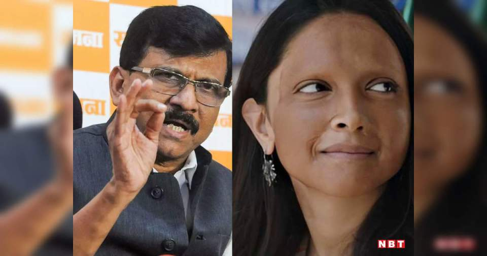 Sanjay Raut: Shiv Sena in support of Deepika Padukone, Sanjay Raut said – 'Taliban' mentality cannot run in the country – Sanjay raut said that wrong to boycott deepika padukone or her film