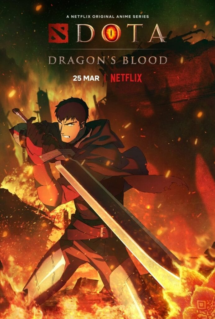 Dota: Dragon's Blood Season 1 Episode 1 – 8 (Complete)
