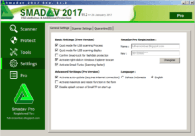 Smadav Pro 2017 Rev 11.6.5 Crack + Patch Full Free Download