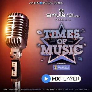Times of Music music show on MX player