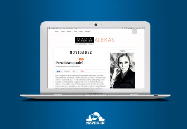 Blog Maria Alekas
