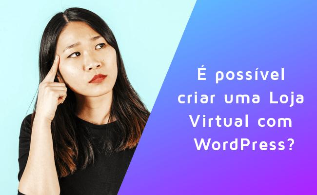 Loja Virtual com WordPress