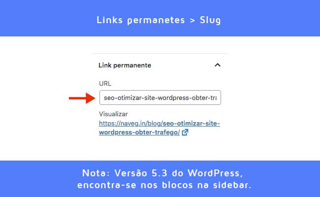 SEO: Configuração de Slug WordPress