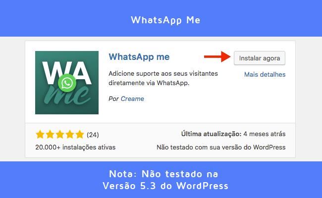 WhatsApp Me