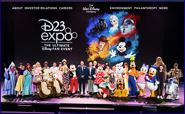 Site The Walt Disney Company by WordPress