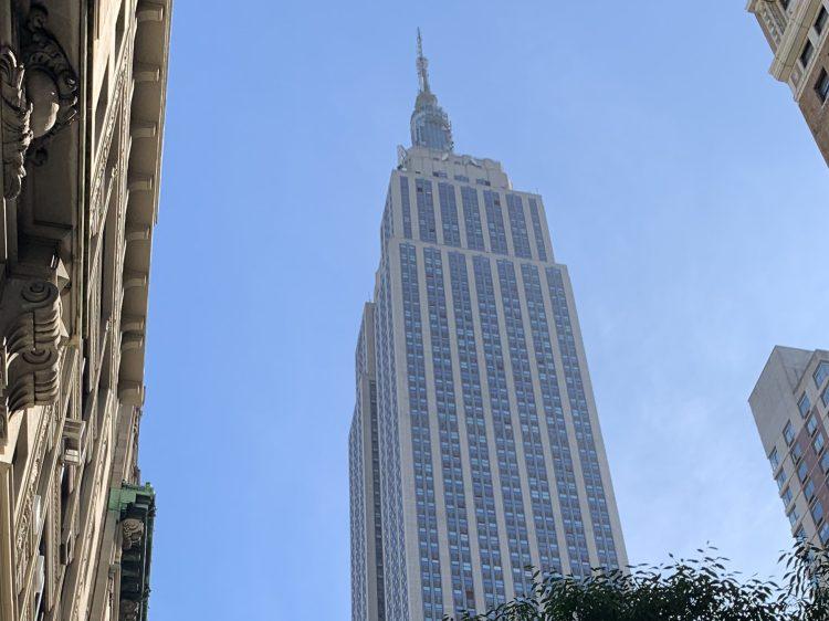 L'Empire State Building, l'immeuble dans lequel se trouvait l'école Kaplan jusqu'en octobre 2019.