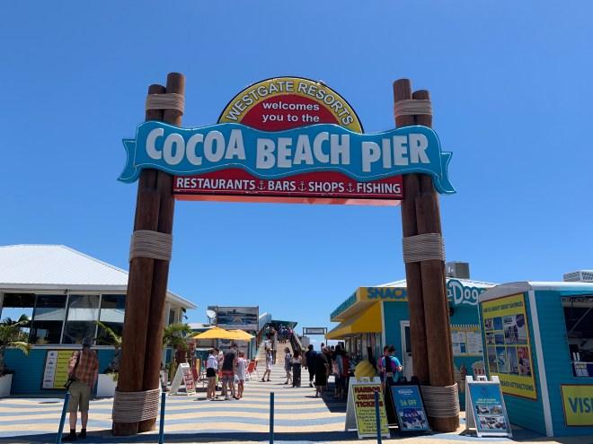 Cocoa Beach Pier, endroit à visiter et à faire à Orlando