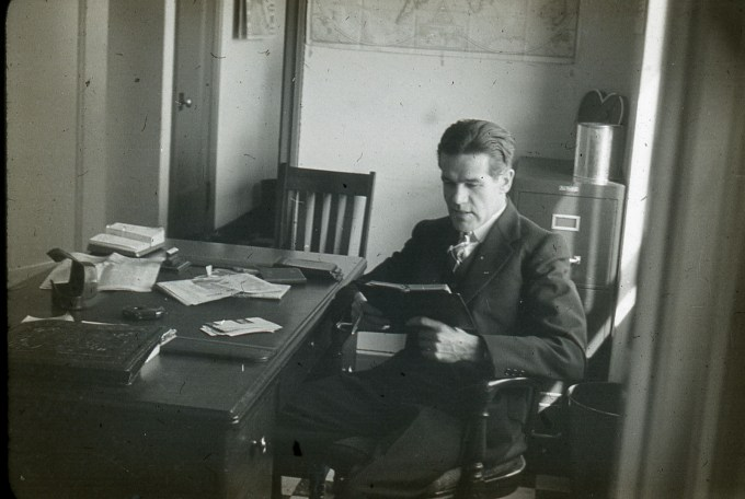 Dawson Trotman Writing in Journal