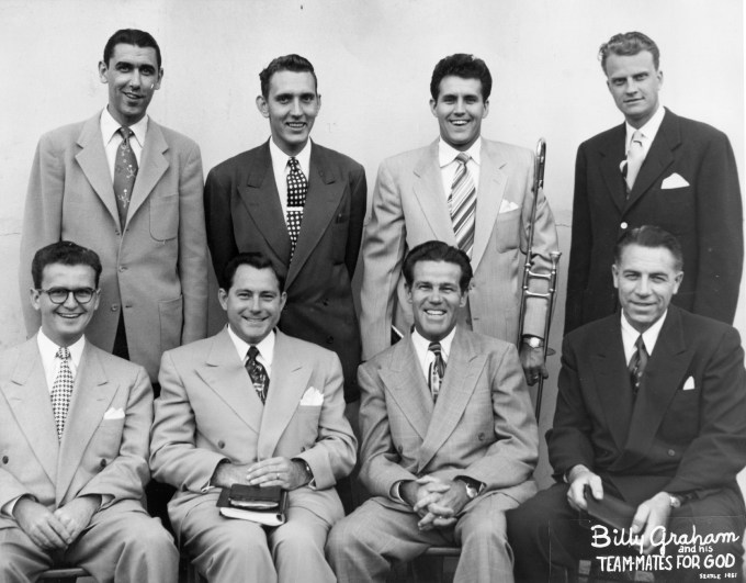 Graham and Teammates 1951 small