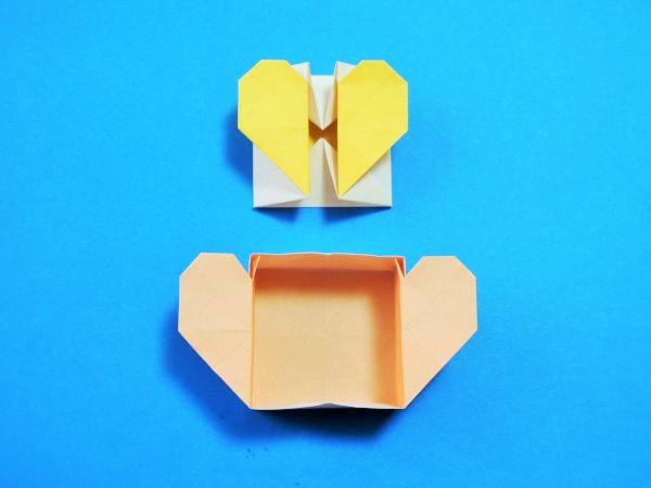 ハート 折り紙 折り紙 可愛い箱 : xn--o9ja9dn55ayerin411bcd3afbgz3gd4y.jp