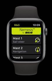 B&G Nemesis Apple Watch App