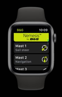 B&G Nemesis Apple Watch App