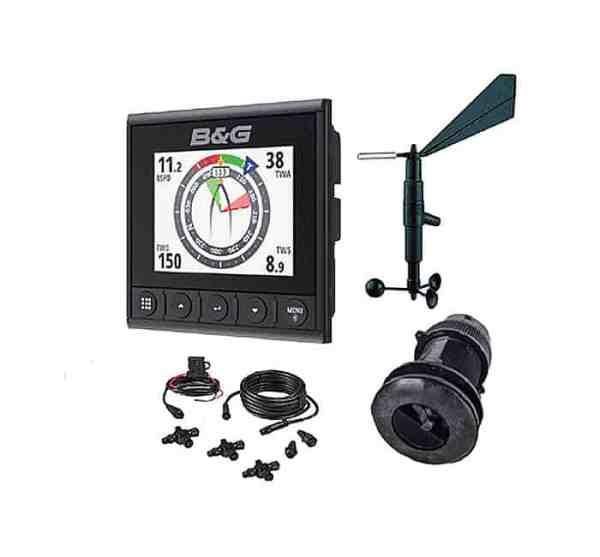 B&G Triton² WS310 DST810 Wind Logge Lot Paket mit DST810 Transducer