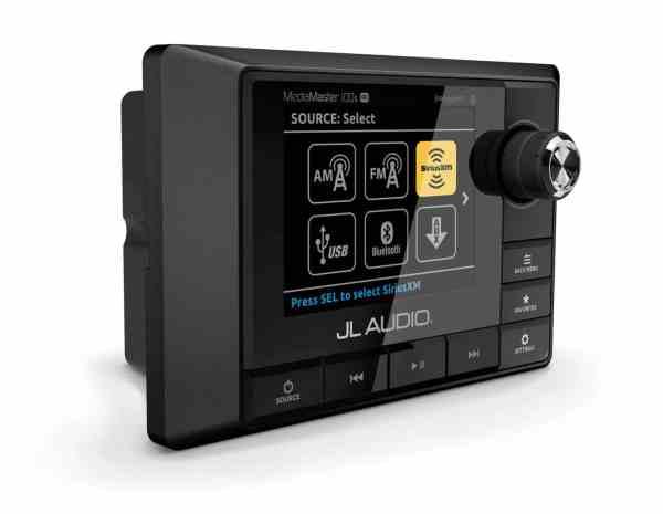 JL Audio MediaMaster MM100s-BE Bedieneinheit seitlich