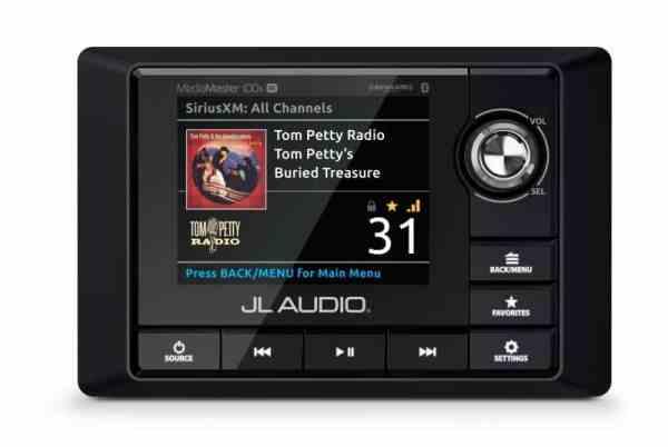 JL Audio MediaMaster MM100s-BE Bedieneinheit von vorne