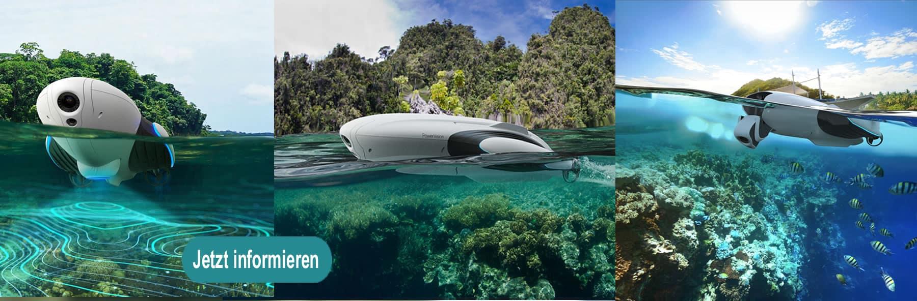 PowerVision Unterwasserdrohnen