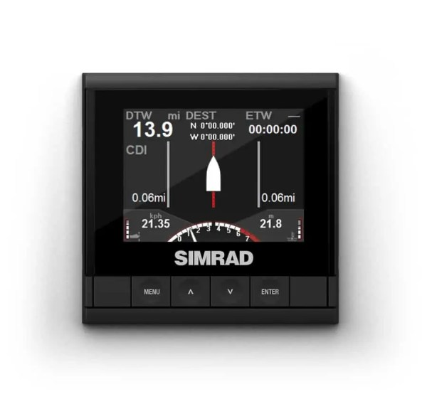 Simrad IS35 Motordaten Instrumentendisplay