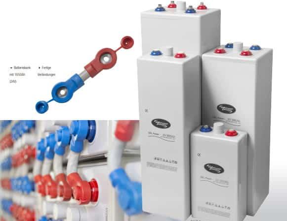WhisperPower 2V Gel Batterien
