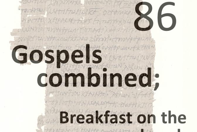 Gospels combined 86 - breakfast on the beach