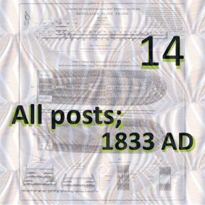 1833 ad - all posts