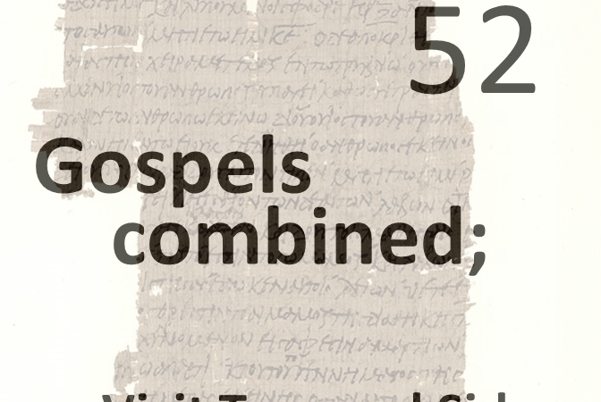 Gospels combined 52 - visit tyre and sidon