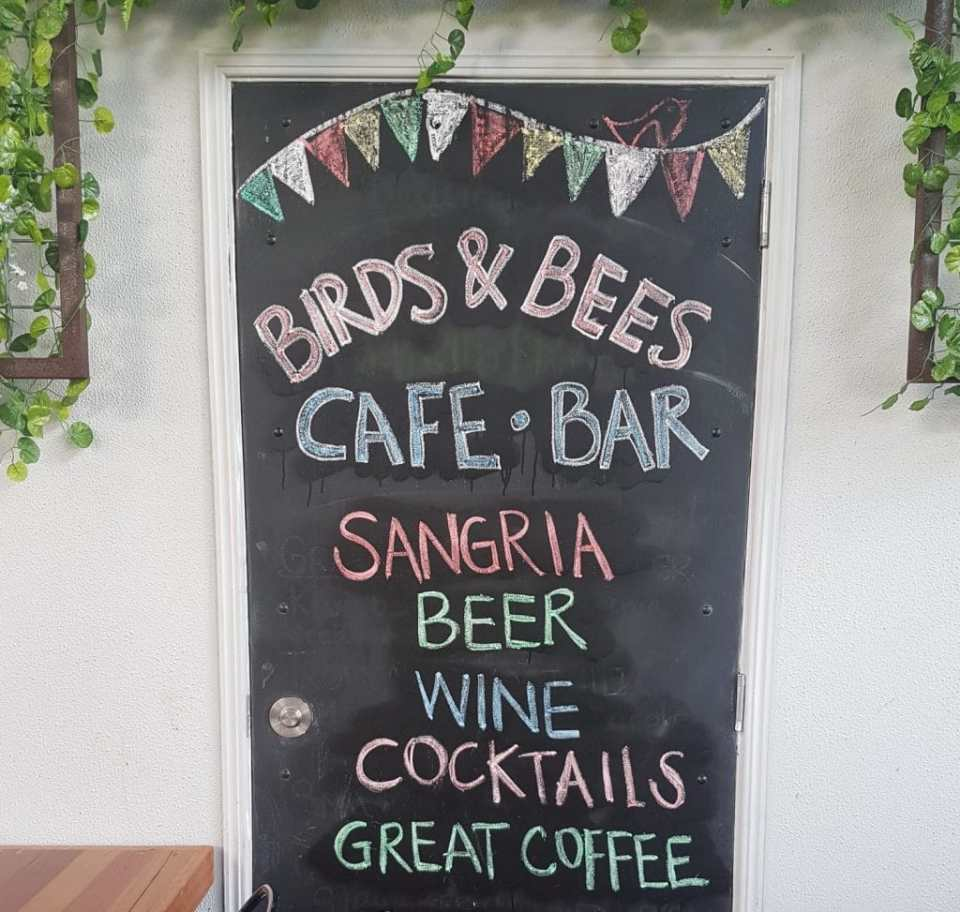 Birds and Bees cafe drinks