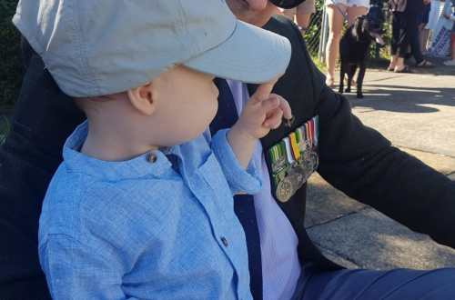 Dayboro Anzac Day march