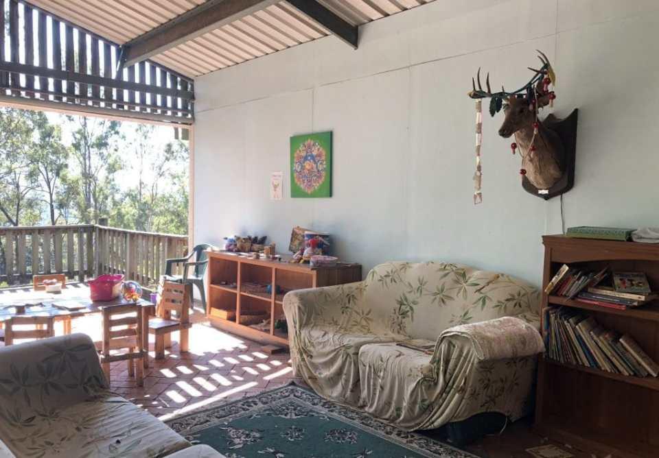 Lyell Deer Sanctuary book corner