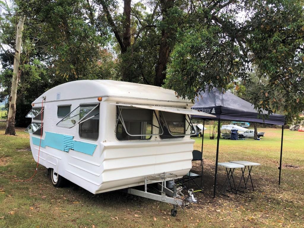 Kenilworth Homestead Vintage Caravan