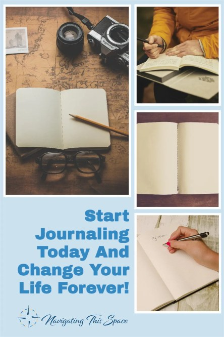 start journaling today and change your life forever