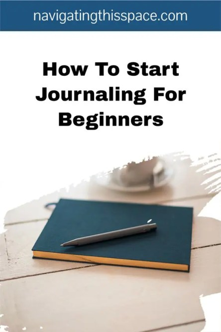 how to start journaling for beginners
