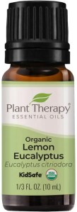Lemon Eucalyptus Organic Essential Oil