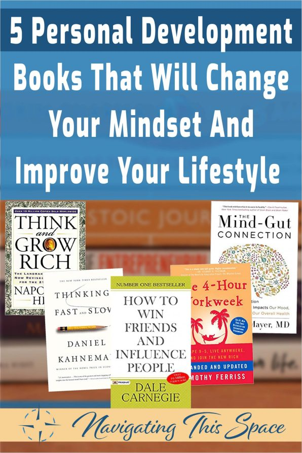 5 Personal development books that will change your mindset and improve your lifestyle