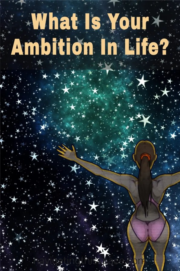 art depicting a young girl in swim suit looks at the billions stars wondering her ambition in life